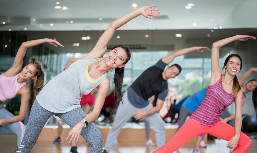 Bewegungskurse, Gruppenfitnesskurse