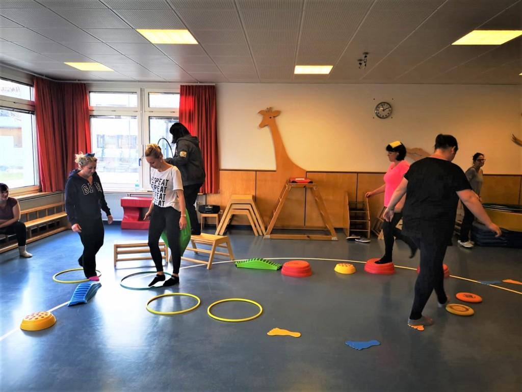 """""""Bewegte Kids"""" Kindergarten Fortbildung PaedagogInnen und HelferInnen"""