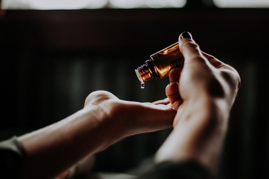 Ayurveda-Massage, Massageöl,