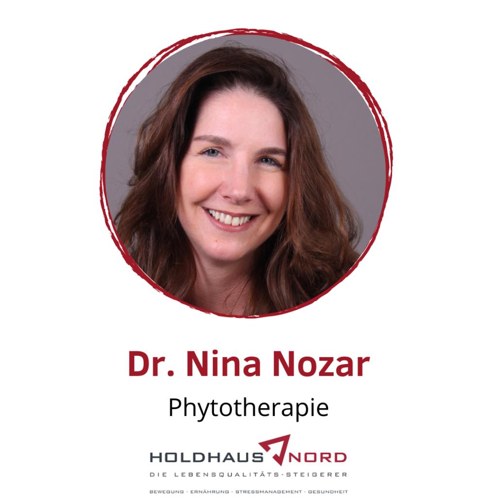 Dr. Nina Nozar - Phytotherapie - Holdhaus & Nord