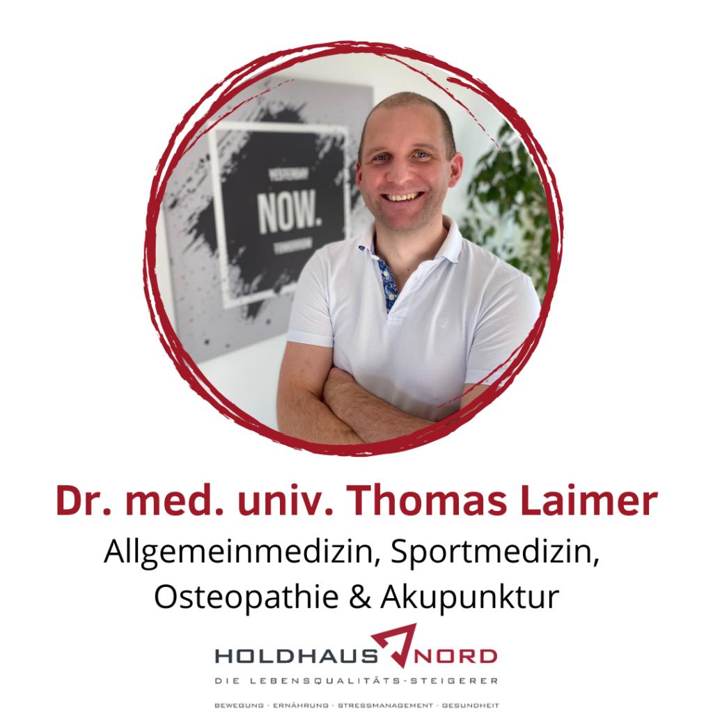 Dr. Thomas Laimer - Medizin - Holdhaus & Nord